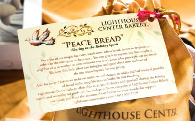 Sharing joy and good cheer with Peace Bread